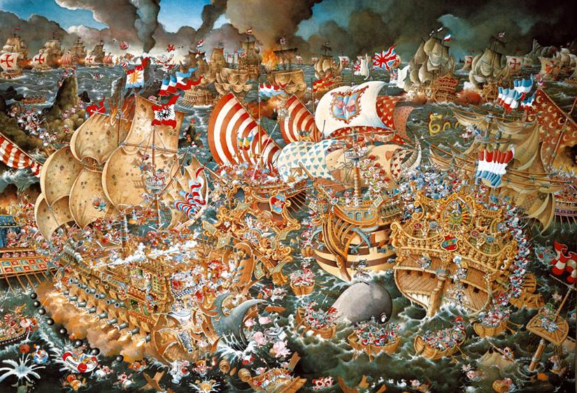 Trafalgar by Ryba